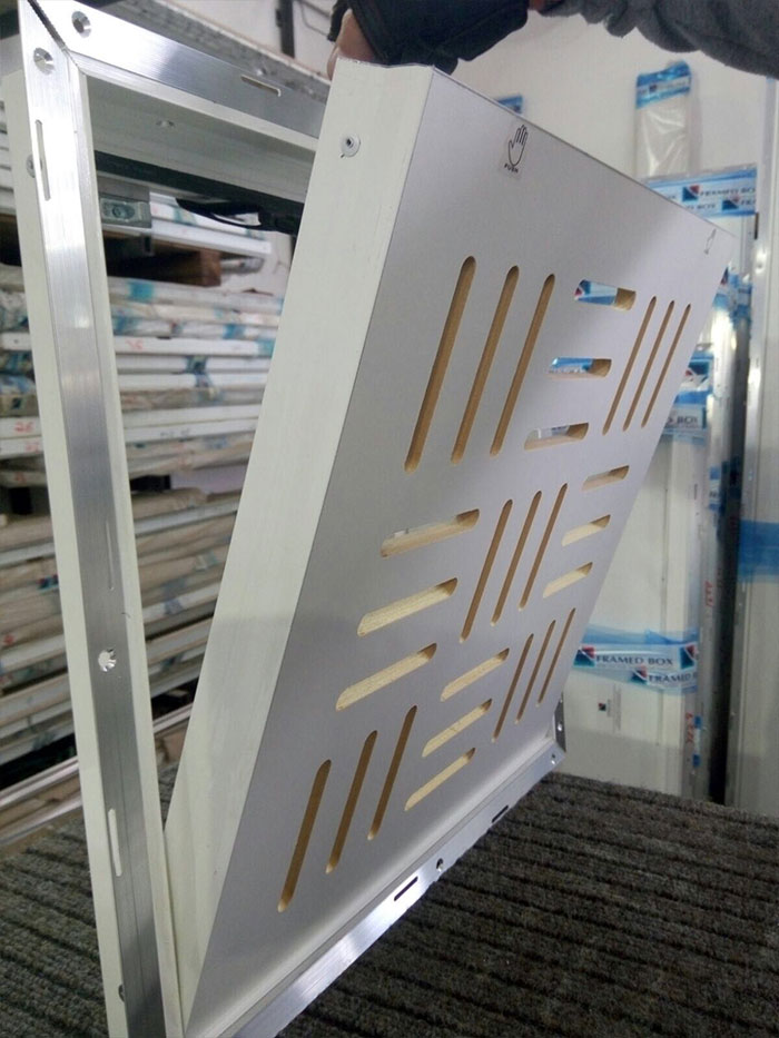 פתחי שירות מעוצבים - ארגז סמוי למיזוג אוויר